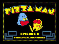pizza-man pac-man parody